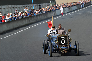 07/06/15 - CHARADE - PUY DE DOME - FRANCE - Commemoration officielle des 110 ans de la Course GORDON BENNETT - Photo Jerome CHABANNE